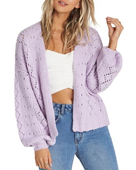 Billabong - Blissed Out Pointelle Cardigan