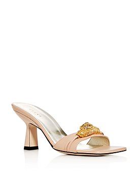 Gucci - Women's Tiger Square-Toe Slide Sandals