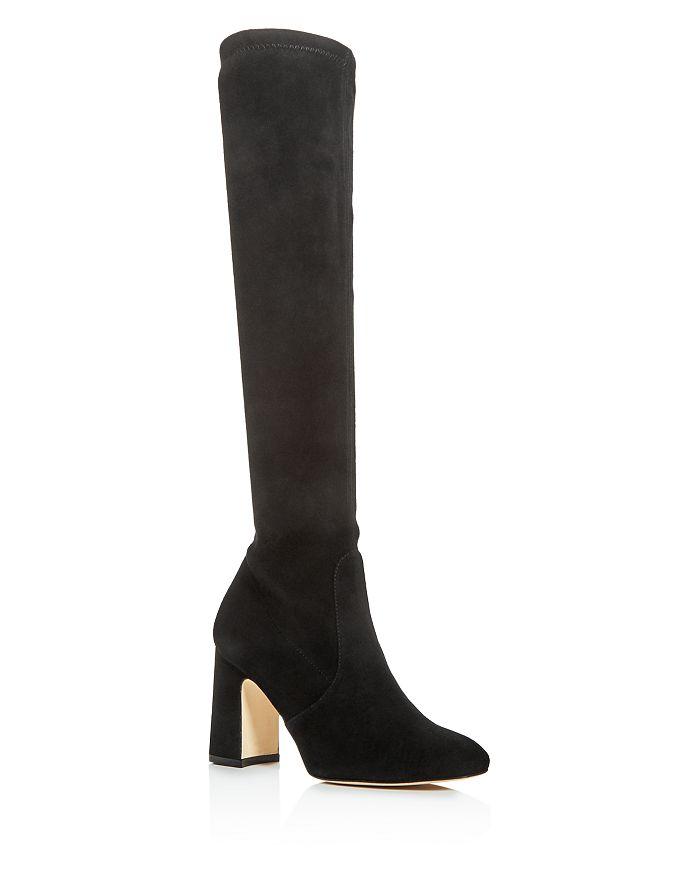 Stuart Weitzman - Women's Milla Stretch Block High-Heel Boots
