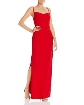 Laundry by Shelli Segal - Ruched Jersey Gown
