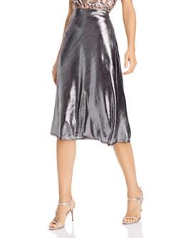 AQUA - Midi Slip Skirt - 100% Exclusive