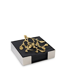 Michael Aram - Mistletoe Cocktail Napkin Box