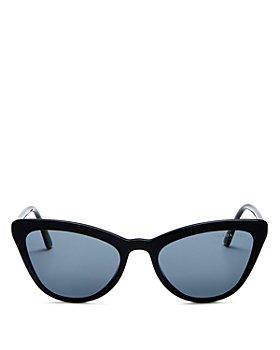 Prada - Women's Polarized Cat Eye Sunglasses, 56mm