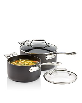 All-Clad - Essentials Nonstick Sauce Pans Set