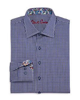 Robert Graham - Boys' Charly Gingham Dress Shirt - Big Kid
