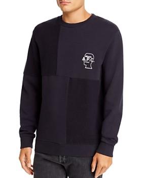 A.P.C. - x Brain Dead Pony Fabric-Block Sweatshirt