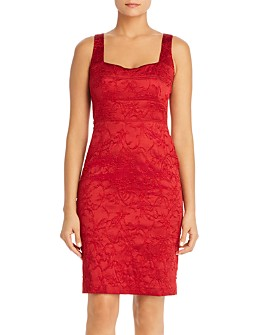 Elie Tahari - Femi Sleeveless Brocade Sheath Dress