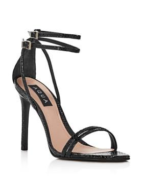 AQUA - Women's Silvana High-Heel Strappy Sandals - 100% Exclusive