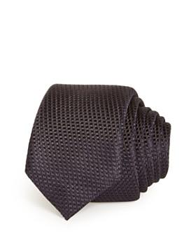 BOSS - Solid Woven Silk Skinny Tie