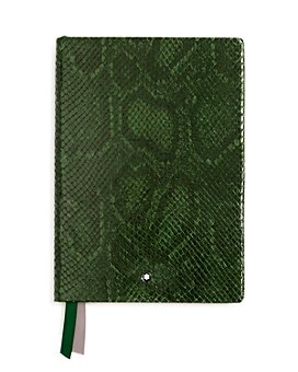 Montblanc - #146 Python-Embossed Leather Lined Notebook