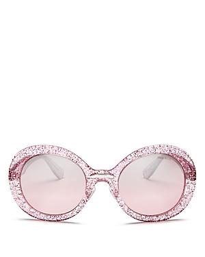 Miu Miu Women's Oversized Round Sunglasses, 53mm
