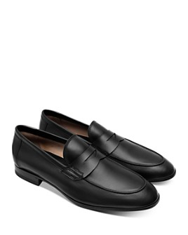 Paul Stuart - Men's Harlan Leather Penny Loafers