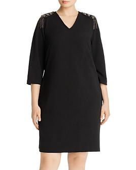 JUNAROSE Plus - Ragina Epaulet Dress