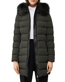 Mackage - Calla Fur-Trim Lightweight Down Coat - 100% Exclusive