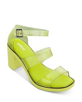 Melissa - Women's Model Block Heel Sandals