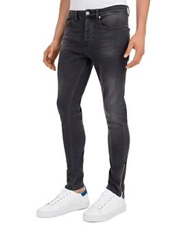 The Kooples - Straight Slim Jeans in Black