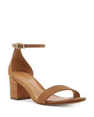 Schutz Sandals WOMEN'S CHIMES BLOCK HEEL SANDALS
