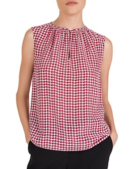 Gerard Darel - Manille Printed Silk Top