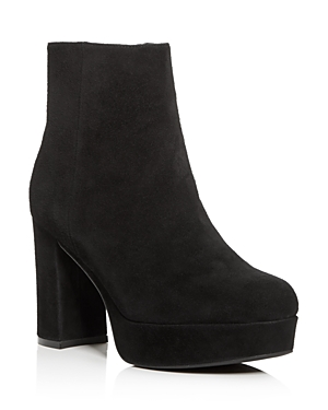 Jeffrey Campbell Women's Sahar Platform Block-Heel Booties