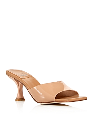 Jeffrey Campbell Sandals WOMEN'S SQUARE-TOE HIGH-HEEL SANDALS