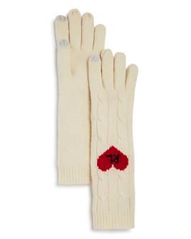 Polo Ralph Lauren - Heart Cable-Knit Tech Gloves