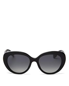Burberry - Woman's Polarized Cat Eye Sunglasses, 54mm