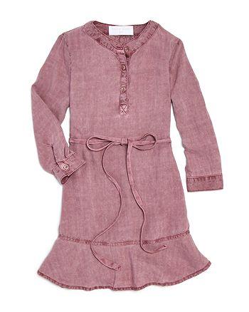 Bella Dahl - Girls' Belted Woven Dress - Little Kid, Big Kid