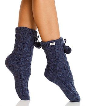 UGG® - Pom-Pom Fleece-Lined Socks