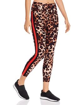 Calvin Klein - High-Rise Leopard Print Leggings