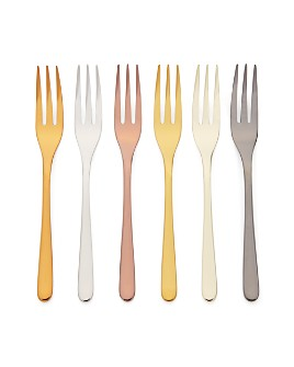 Sambonet - Mix & Play 6-Piece Cake Forks Set