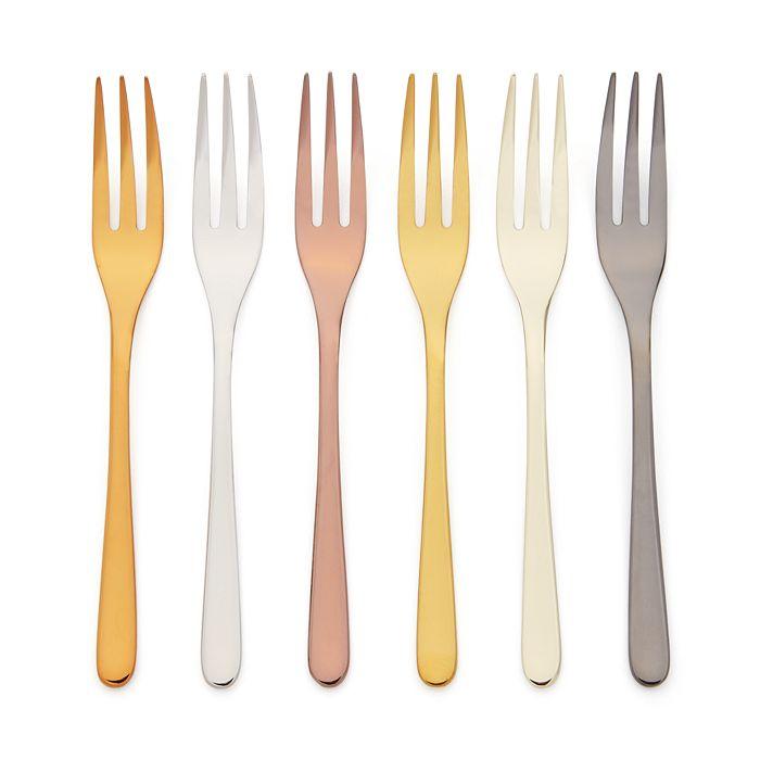 Sambonet - Mix & Play 6-Piece Cake Forks Set