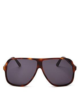 Illesteva - Unisex Connecticut Havana Oversized Aviator Sunglasses, 65mm