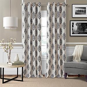 Elrene Home Fashions Navara Medallion Room Darkening Curtain Panel, 52 x 84