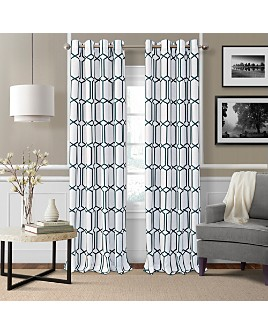 Elrene Home Fashions - Kaiden Geometric Room Darkening Curtain Panel