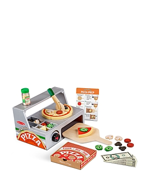 Melissa & Doug Top & Bake Pizza Counter Play Set - Ages 3+