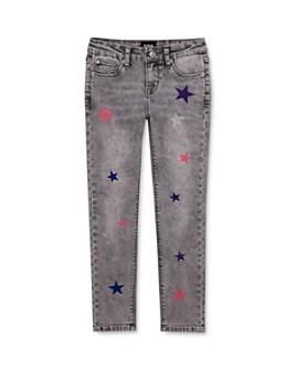 Hudson - Girls' Sheena Glitter-Star Skinny Ankle Jeans - Little Kid