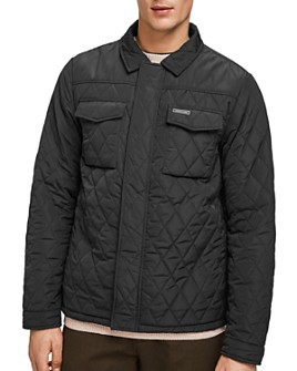 Scotch & Soda - Classic Fit Quilted Shirt