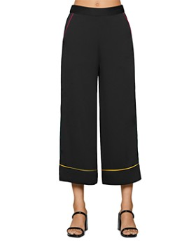 BCBGENERATION - Pajama Piped Wide-Leg Pants