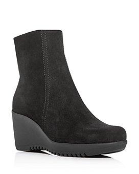 La Canadienne - Women's Gavyn Waterproof Wedge Platform Booties