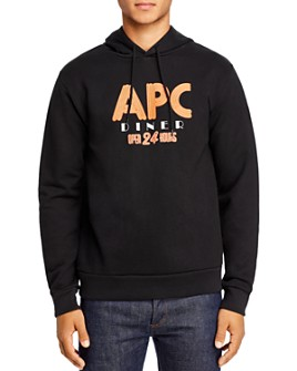 A.P.C. - Benito Graphic Logo Hooded Sweatshirt
