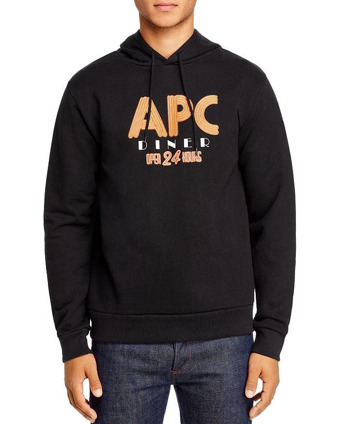 A.P.C. - Benito Graphic Logo Hooded Sweatshirt