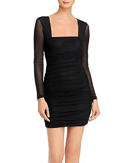 Bardot - Tasha Mesh Body-Con Dress