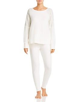 Flora Nikrooz - Genna Brushed Knit Pajama Set