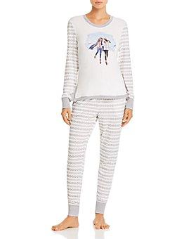 Jane & Bleecker New York - Fair Isle Long Pajama Set - 100% Exclusive