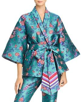 Sachin and Babi - Keira Floral Jacquard Kimono Jacket