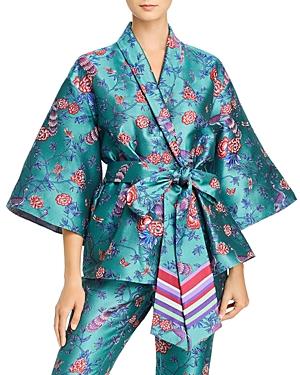 Sachin & Babi Keira Floral Jacquard Kimono Jacket