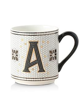 Anthropologie Home - Bistro Monogrammed Mug