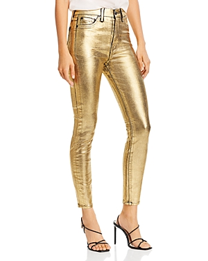 7 For All Mankind High-Waisted Ankle Skinny Jeans