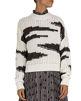 ba&sh - Cacilie Two-Tone Sweater
