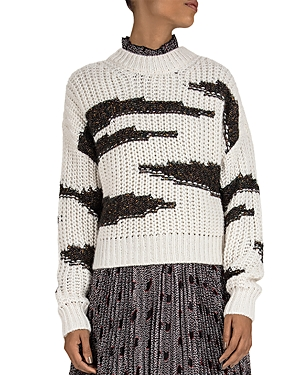 Ba&sh Sweaters BA & SH CACILIE TWO-TONE SWEATER